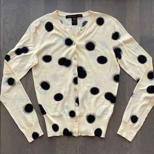 Marc by Marc Jacobs Cardigan w Black Polka Dots